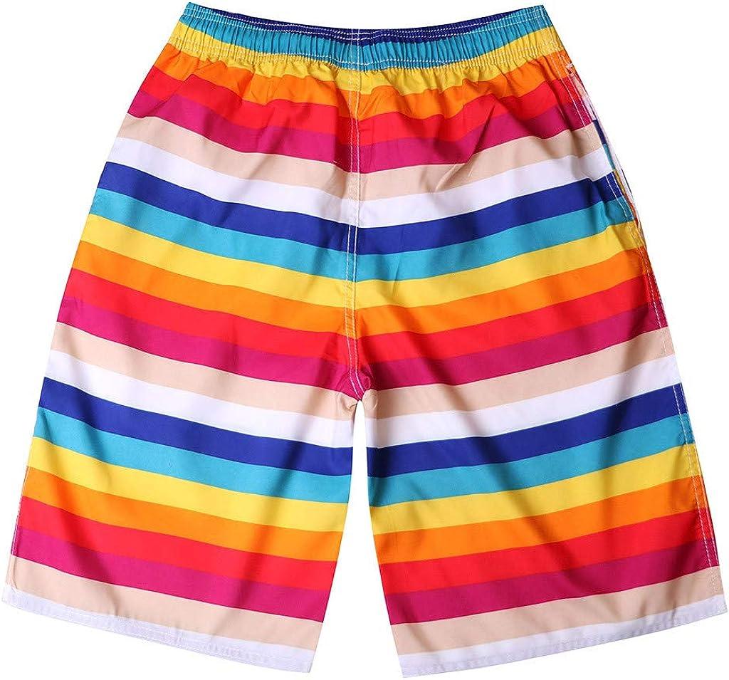 Pantalones Cortos para Hombre Shorts de Verano con Forro de Malla ...