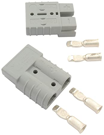 Amazon.com: Allstar ALL76320 Gray 50 Amp Rating Battery Cable Quick ...