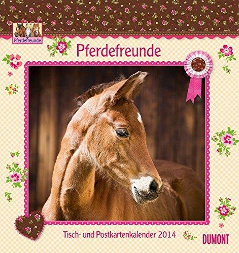 Pferdefreunde 2014: Ein Tisch- und Postkartenkalender