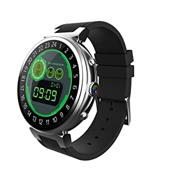FensAide Android Reloj Inteligente para Hombres I6 Reloj de 2 GB + 16 GB Quad Core