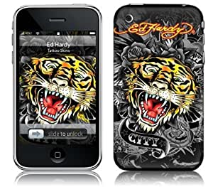 Zing Revolution MS-EDHY60001 iPhone 2G-3G-3GS- Ed Hardy- Tiger Skin