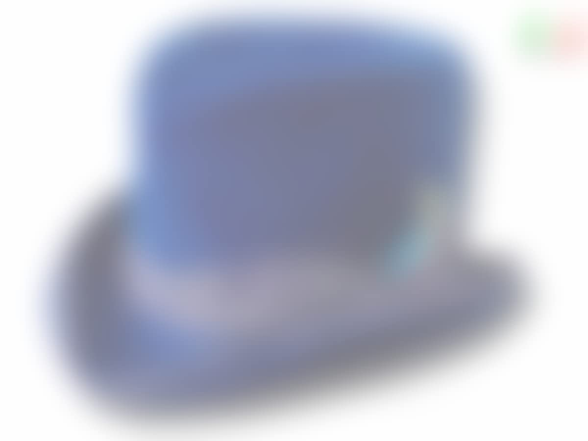Dandy Aged Western Zylinder Hut blau Königs
