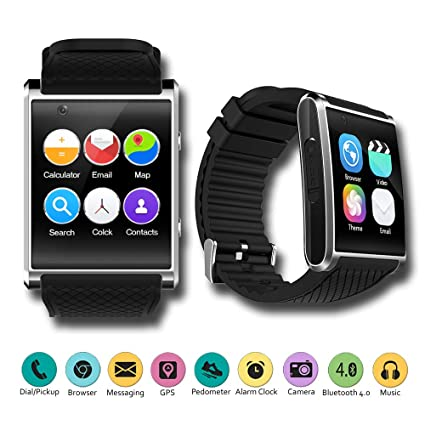 Amazon.com: Indigi New 2018 Android 5.1 OS Watch & 3G ...
