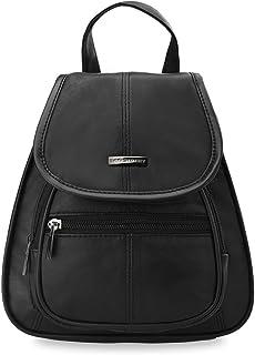 8c0d39c2c3f443 Damen - Rucksack Damentasche Ledertasche schwarz Markentasche Bag Street