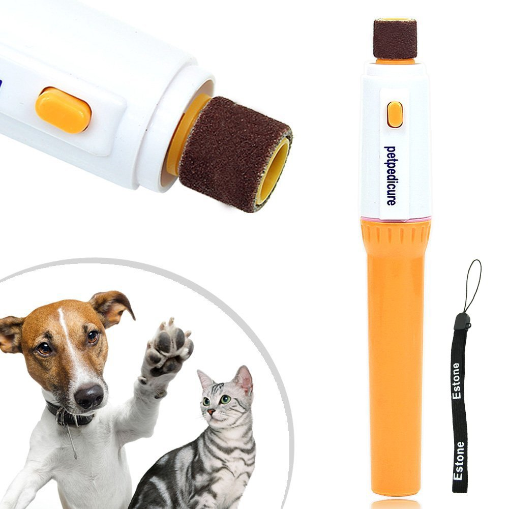 Amazon Estone Pet Dog Cat Nail Grooming Grinder Trimmer