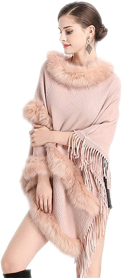 Women Long Fake Cashmere...