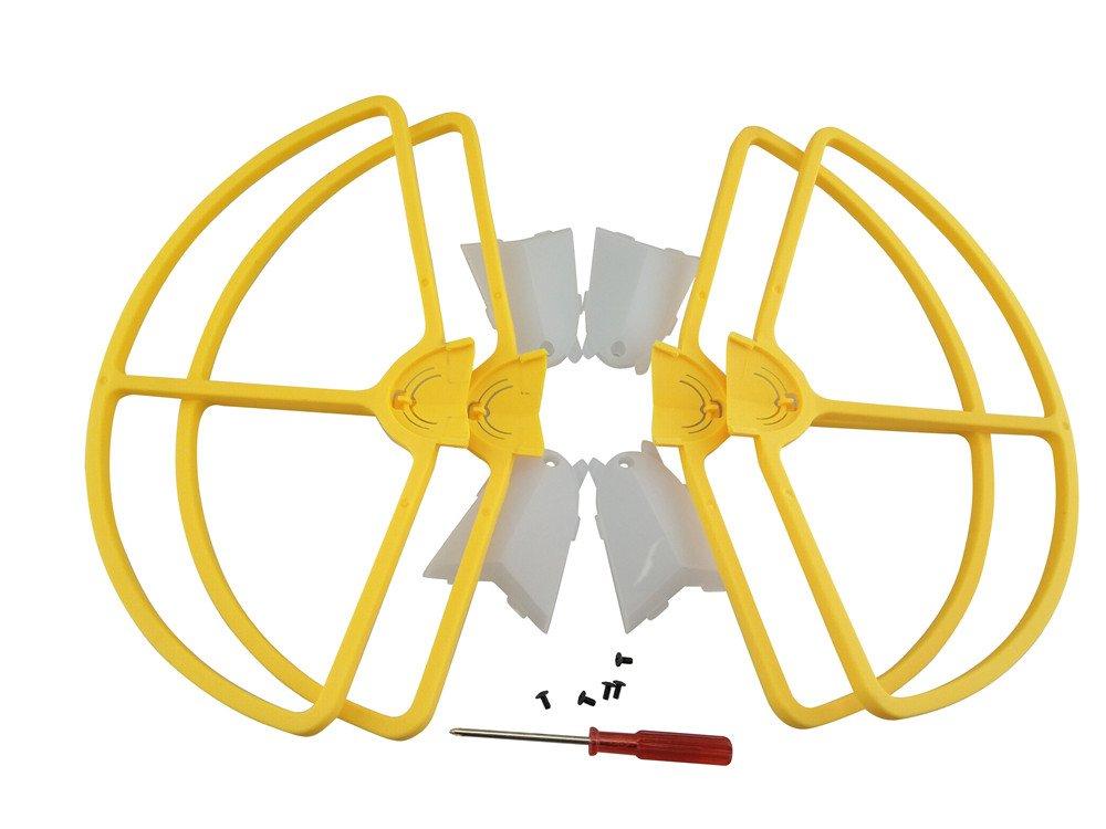 Red B Blesiya 4X Drone Bumper Propeller Guard Crashproof Shield Ring for Holy Stone HS700