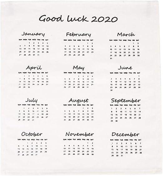 LOFAMI Calendario Calendarios de Escritorio Calendarios d 2020 Año ...