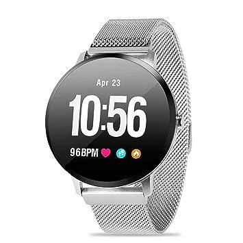 KOBWA Montre Connectée Bracelet Smart Fitness Tracker avec écran Tactile, IP67 étanche,Moniteur De