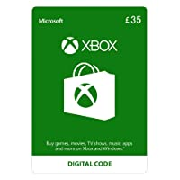 Xbox Live £35 Credit [Xbox Live Online Code] [PC Code - No DRM]