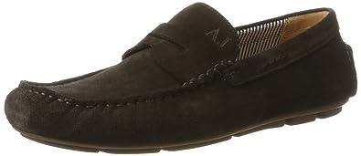 Armani Armani Jeans 935588cc555, Mocassins (Loafers) HommeBeigeBeige (Caffe'), 43