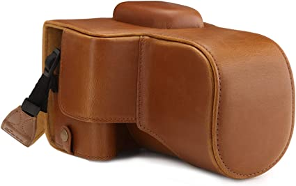 Megagear Mg1609 Canon Eos 2000d Ever Ready Leder Kamera