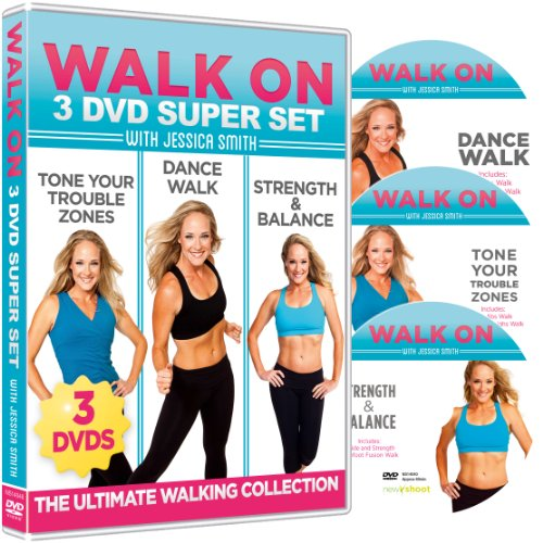 Walk On: 3-DVD Super Set - The Ultimate Walking Collection