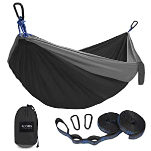 Kootek Camping Double & Single Portable Hammocks