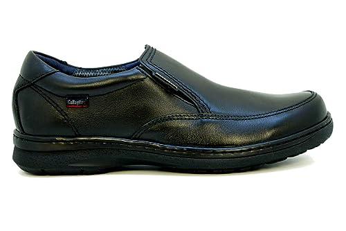 ba66a0b2 callaghan 87501 Jeager Mocasín Hidro Waterstop Negro 45 EU: Amazon.es:  Zapatos y complementos