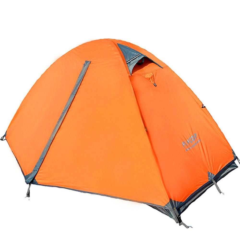 TLMY Outdoor-High-End-Single-Doppel-Doppel-Aluminium-Pole Outdoor-Camping-Zelt Anti-Regensturm Verfolgung Zelte