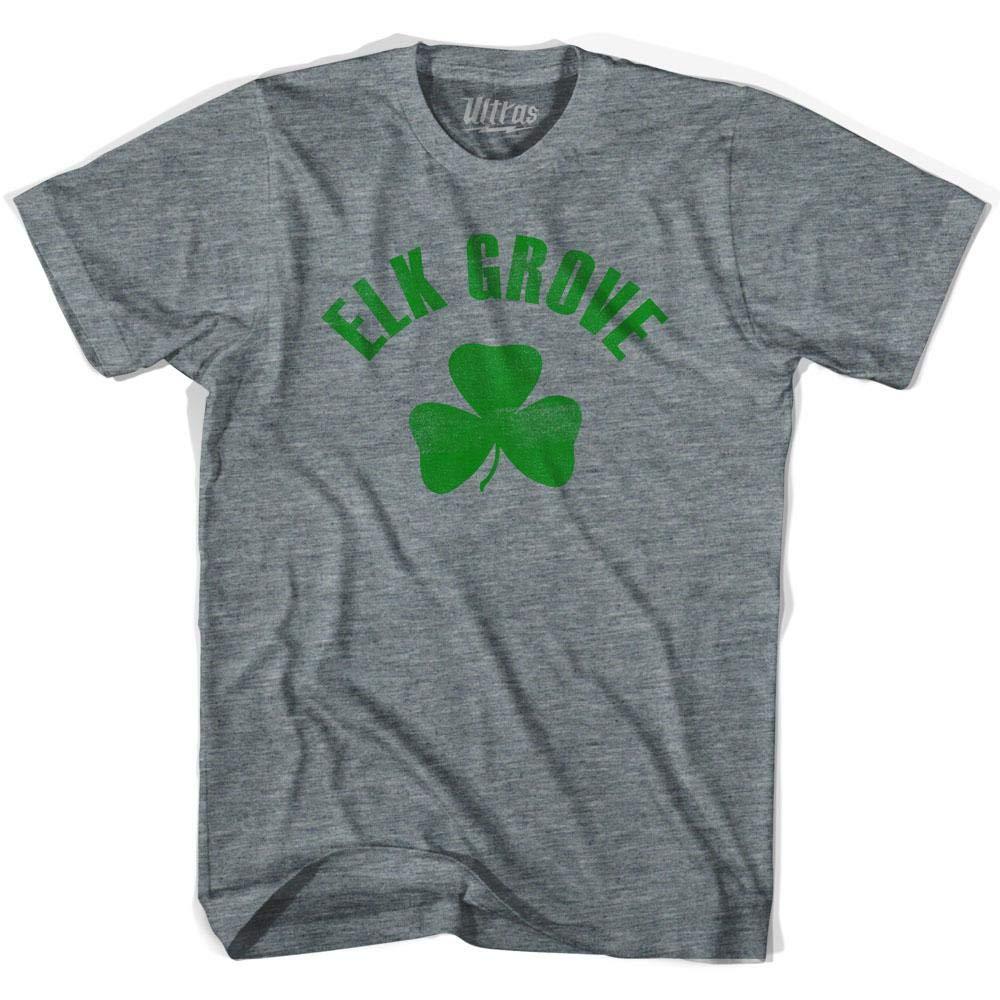 Elk Grove City Shamrock Tri-Blend T-Shirt