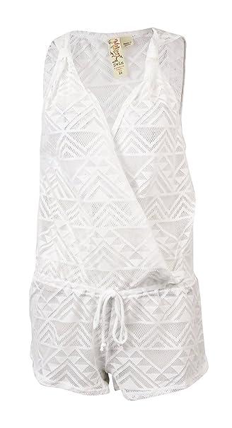 Miken Pelele de ganchillo traje de baño Cover Up: Amazon.es: Ropa y accesorios
