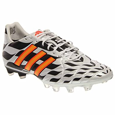 hot sale online 8faf4 5124c Image Unavailable. Image not available for. Color  adidas Adipure 11PRO FG  (2014 WC) Leather Pro Model Soccer Cleats, Men s US