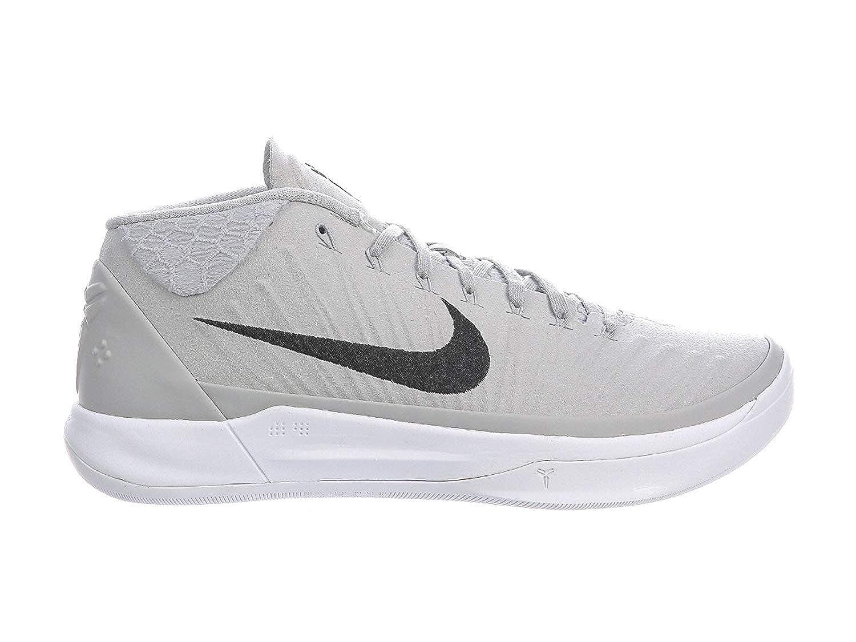 more photos 8442f 6fae3 Nike Men's Kobe AD Wolf Grey/Black/White Nylon Basketball Shoes 11 D(M) US