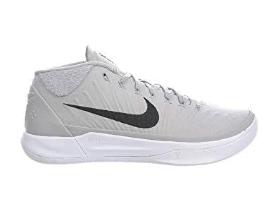 size 40 9858f c5165 Image Unavailable. Image not available for. Color  NIKE Men s Kobe A.D. Wolf  Grey Black White Nylon Basketball Shoes ...