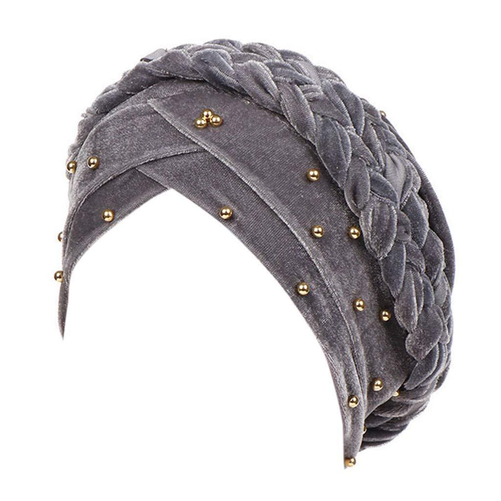 Pañuelos para la Cabeza para Mujer, BBestseller Sombrero de Mujer Musulmana Protector Solar Gorra Toallas, para quimio: Amazon.es: Ropa y accesorios