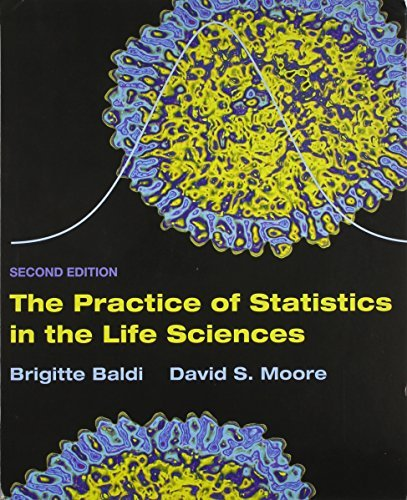 Practice of Statistics in the Life Sciences by Brigitte Baldi (2011-04-01) (Garden Baldo)
