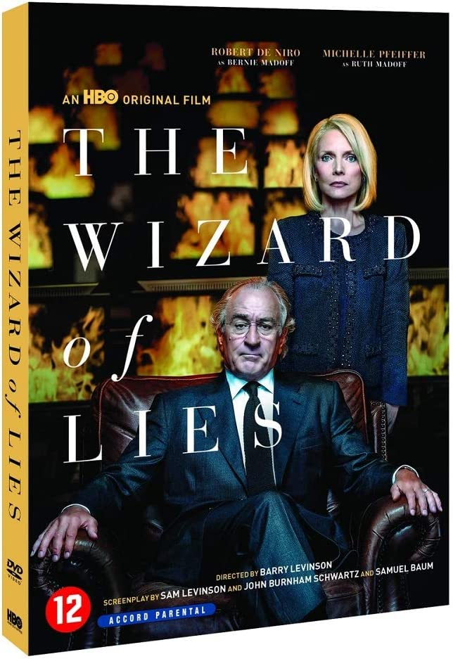 The Wizard Of Lies Dvd Amazon Co Uk Dvd Blu Ray