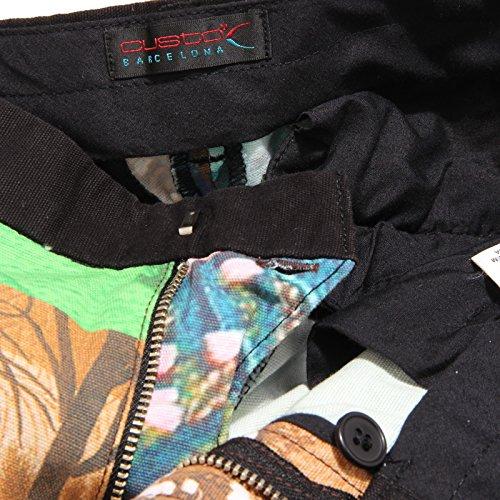 donna FIT pantalone trouser Multicolore capris woman SLIM Custo CAPRI 7603V wearing gOxwE