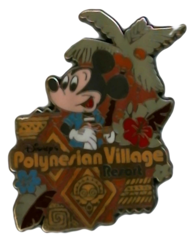 Disney Pin - WDW - Polynesian Village Resort