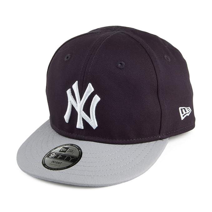 Gorra béisbol Bebé 9FIFTY New York Yankees New Era - Azul Marino-Gris - Niño/a - Ajustable: Amazon.es: Ropa y accesorios