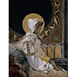 The Perfect effect canvas of oil painting 'Sorolla y Bastida Joaquin Santa en oracion 1888 ' ,size: 24 x 31 inch / 61 x 79 cm ,this Cheap but High quality Art Decorative Art Decorative Canvas Prints is fit for Foyer gallery art and Home decor and Gifts
