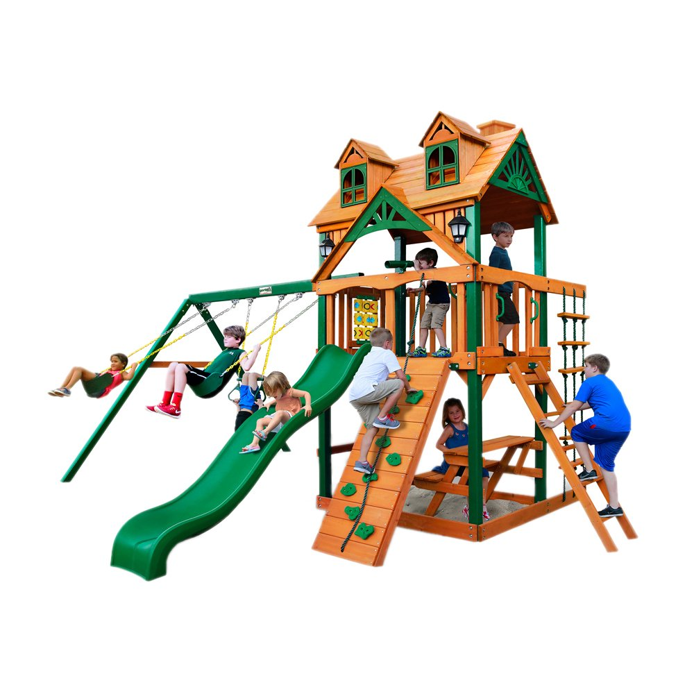 amazon com cedar swing set toys u0026 games