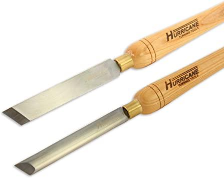 High Speed Steel Woodturning Diamond Parting Tool 3//4 Inches x 3//16 Inches Hurricane Turning Tools High Speed Steel