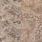 Mannington Hardware AT193 Adura Luxury Escalante Vinyl Tile Flooring,,, Brownstone