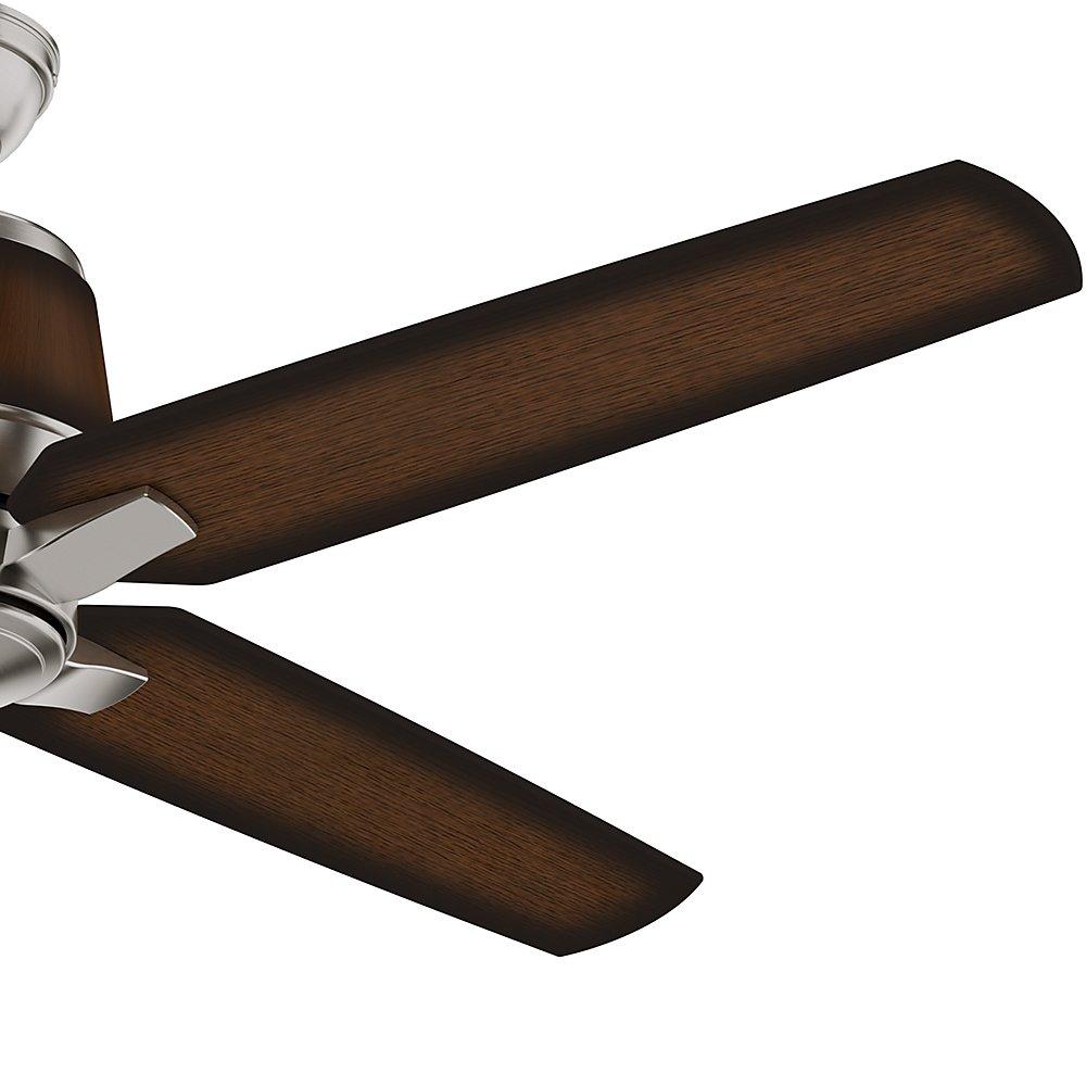 Casablanca 59123 Aris 54-inch Brushed Nickel Ceiling Fan with Mayse Blades
