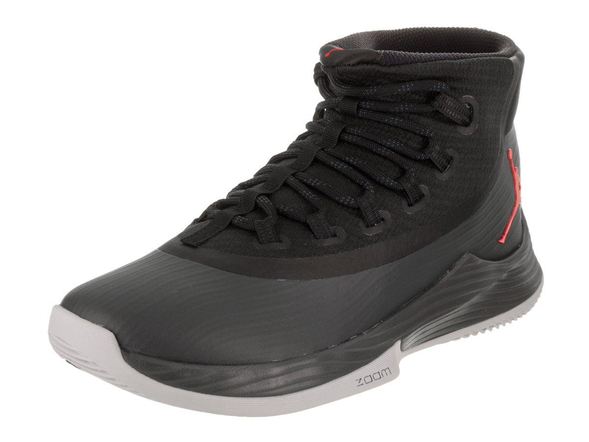 Jordan Nike Men's Ultra Fly 2 Black/Anthracite Red Basketball Shoe 8.5 Men US by Jordan