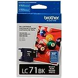 Brother Printer LC71BK Standard Yield Black Ink