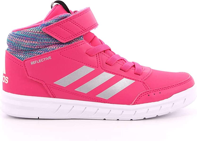 sneakers for cheap 6cc85 739ff adidas Unisex-Kinder AltaSport Mid BTW K Fitnessschuhe Grau  (Gricin Refsil Magrea