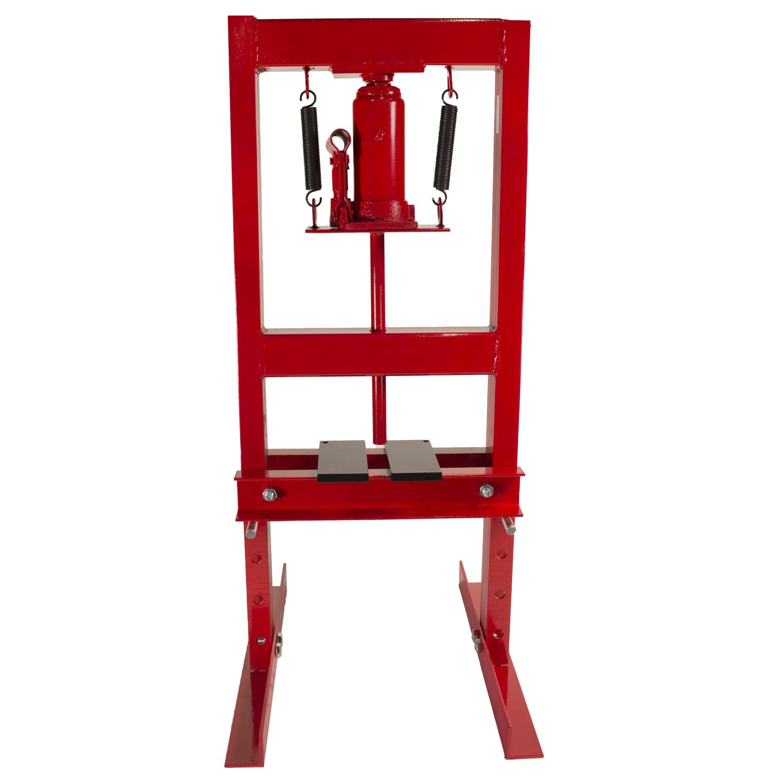 Dragway Tools 6-Ton Hydraulic Shop Floor Press with Press Plates and H Frame is Ideal for Gears and Bearings by Dragway Tools (Image #8)