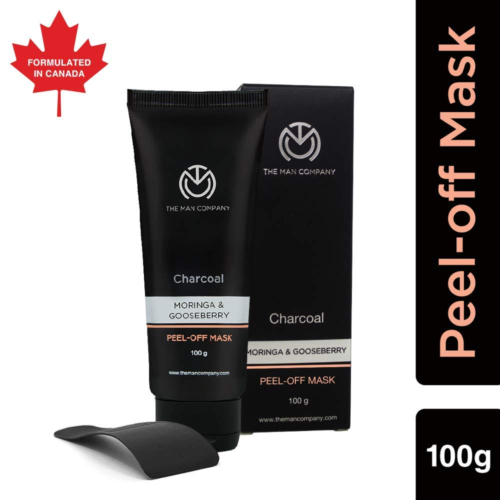 The Man Company Activated Charcoal Peel Off Mask