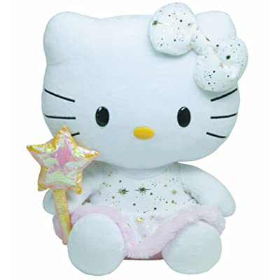 Ty TY90137 - Peluche - Hello Kitty - Angel - 33 cm