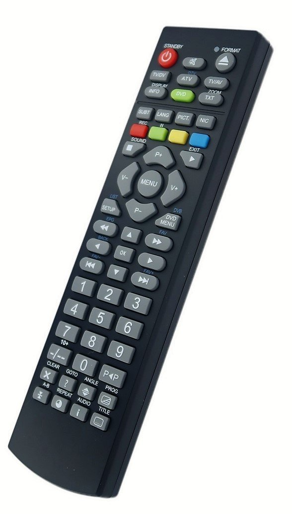 Replacement Remote Control For Lcd Tv Technika 32 56 Amazon