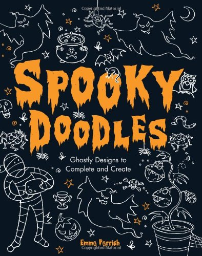 Spooky Doodles (with pen) -