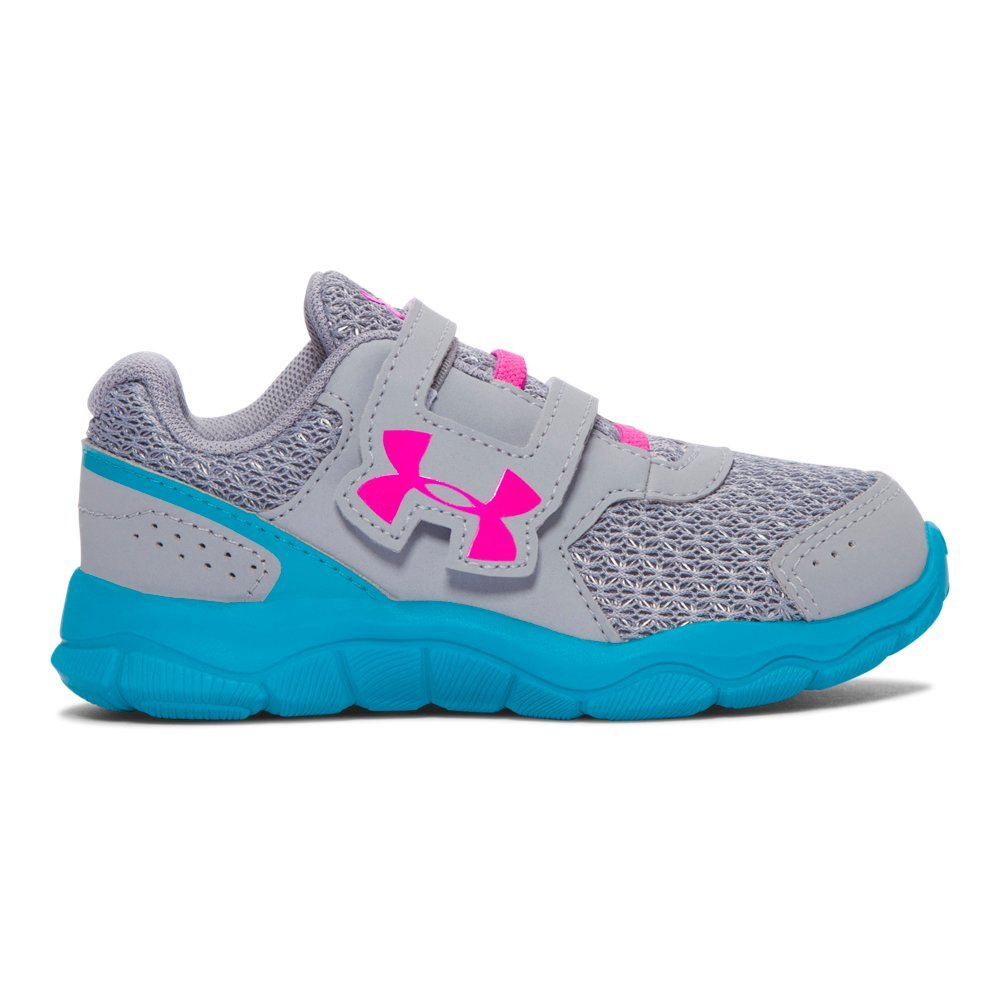 Under Armour Men's Girls' Infant Engage 3 Adjustable Closure Running Shoe