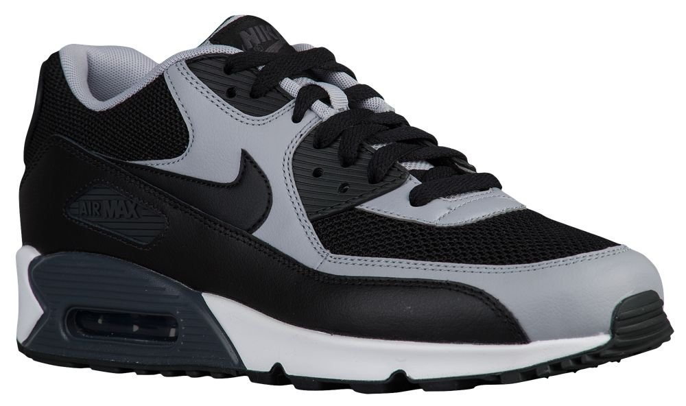 Nike Herren Air Max 90 Essential Low-Top, Weiszlig;, 46 EU  475 EU|Grau