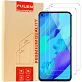 [2 Pack] PULEN for Huawei Nova 5T Screen Protector,HD Clear Scratch Resistant Bubble Free Anti-Fingerprints 9H Hardness Tempered Glass for Huawei Nova 5T