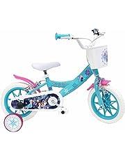 "DENVER  Frozen Bike 17221 - Bicicletta per Ragazze, Blu, 30,5 cm (12"")"