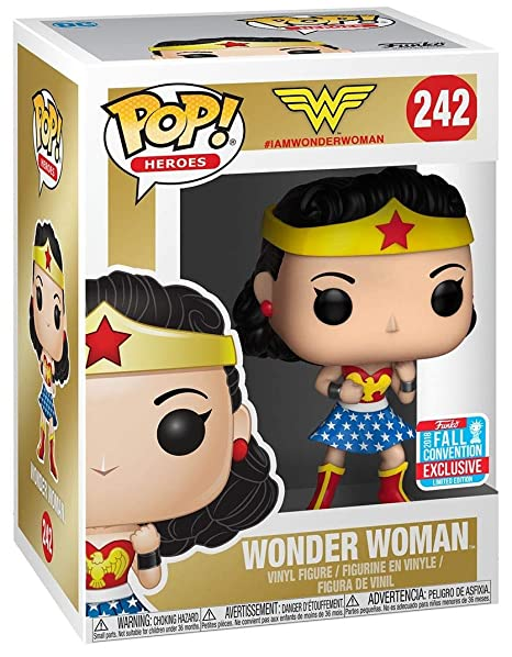 53211b9ced5 Amazon.com  Funko Pop! Heroes DC Wonder Woman Fall Convention Exclusive   Toys   Games
