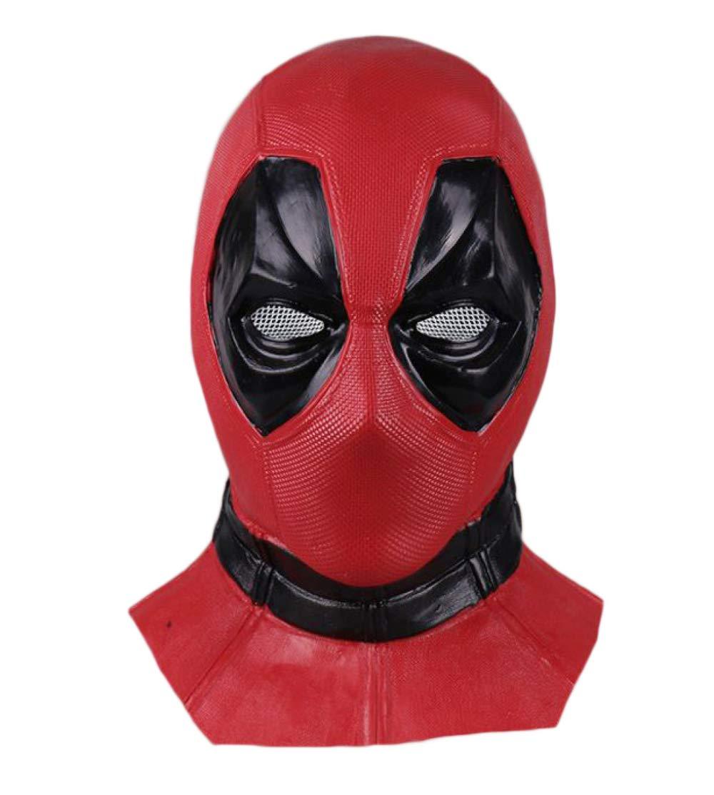 marca en liquidación de venta BLOIBFS Cosplay Máscara Deadpool Hood Máscara Máscara Máscara Cosplay Halloween Cos Helmet Máscara Deadpool Props  Ahorre 60% de descuento y envío rápido a todo el mundo.
